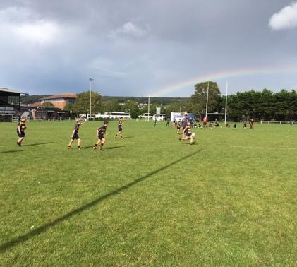 Third Form students playing at the North Somerset Development Rugby Festival – Part 2